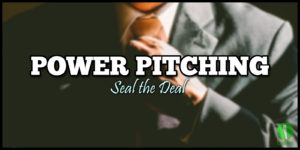 Lunchtime Power Pitching