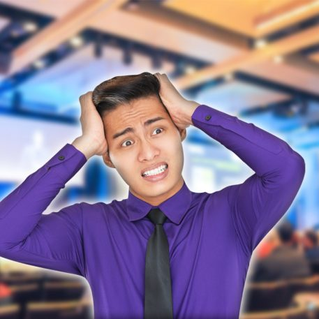 overcome public speaking panic