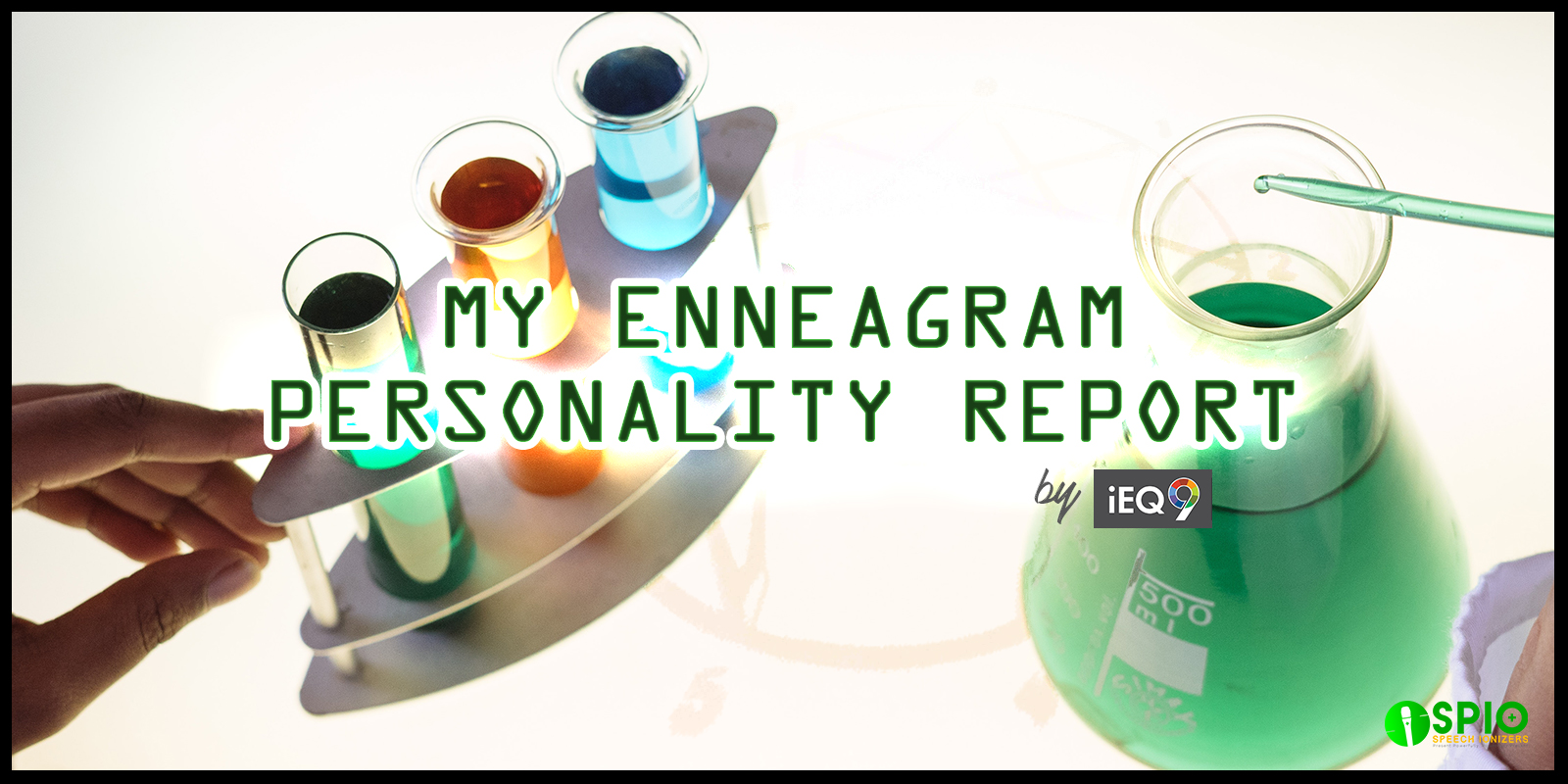 My Enneagram Personality Report