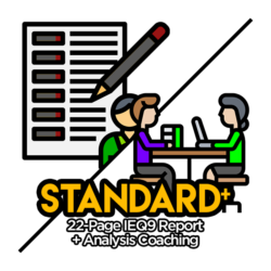 IEQ9 Standard Report with Analysis Coaching