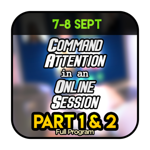 Command Attention in Online Session Full 07080920