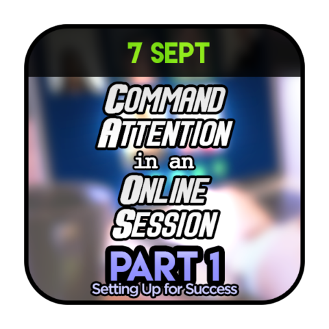 Command Attention in Online Session Part 1 070920