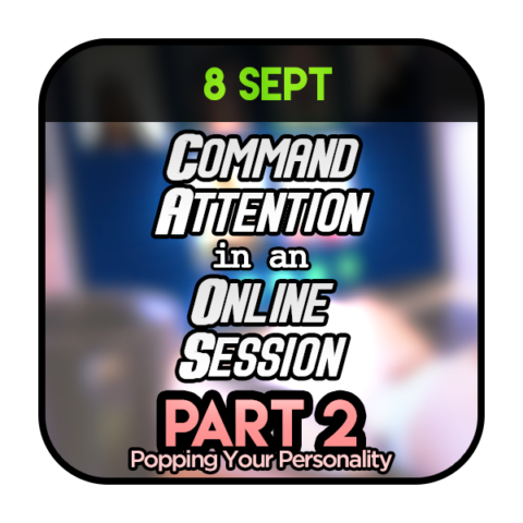 Command Attention in Online Session Part 2 080920